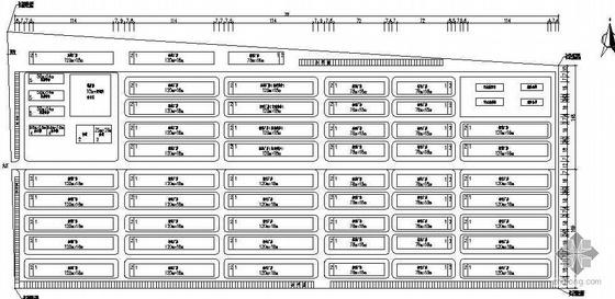 某电镀工业园规划平面图