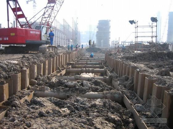 [广东]市政道路扩建工程钢板桩施工专项方案(含计算书)