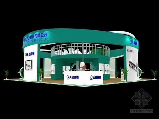 时尚展览展示3D模型下载