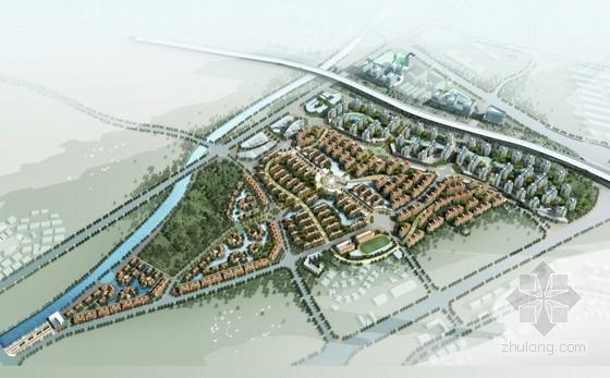 [云南]欧式风格双拼别墅区规划及单体设计方案文本