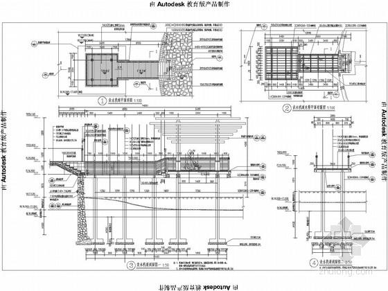 [湖北]滨湖公园景观规划设计施工图