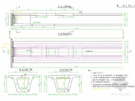 [江苏]三跨预应力混凝土变截面连续箱梁桥全套施工图(近200张)