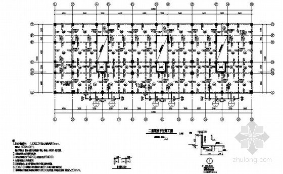 11层框架剪力墙住宅结构施工图