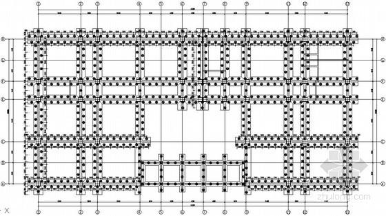[云南]某高级职业中学实作实训楼框架结构设计图