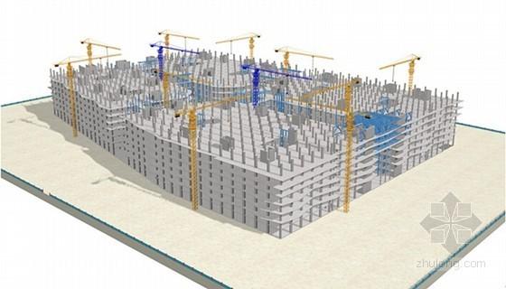 [浙江]单体核心筒博览中心钢结构工程施工方案