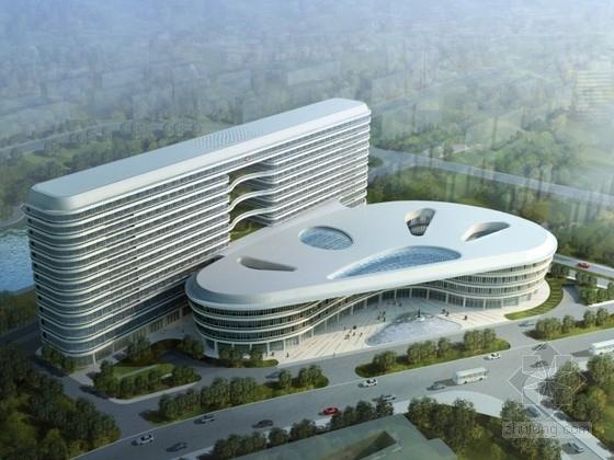 [深圳]某醫院規劃及單體設計方案文本(含CAD、動畫)