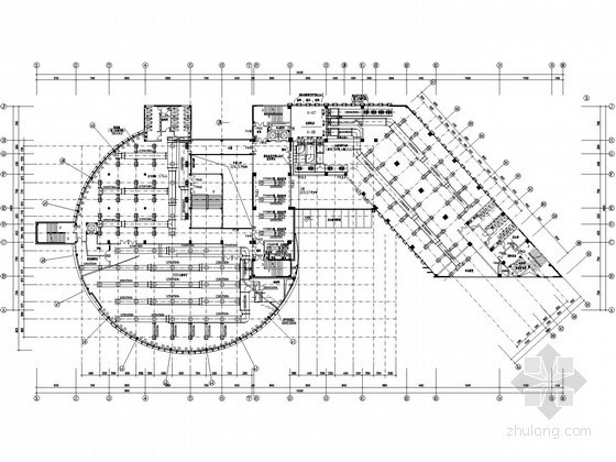 [广州]大学图书馆空调通风全套设计施工图纸