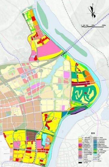 城市规划总平面图