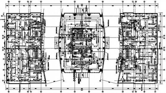 [无锡]超高层商业综合体暖通全套施工图(含计算书 自控图纸)