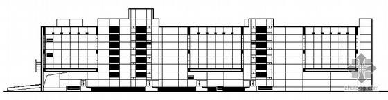 沃尔玛某卖场建筑施工图