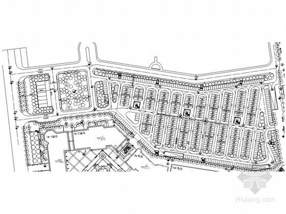[青岛]某欧式高档住宅区景观方案扩初全套施工图
