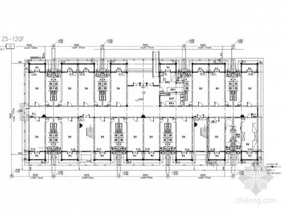 [湖南]学校宿舍楼给排水设计施工图
