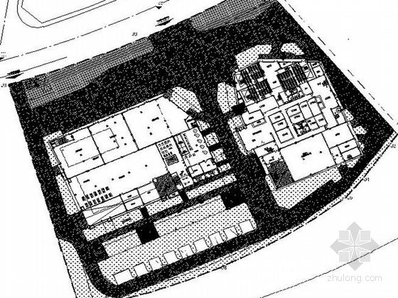 [浙江]多功能市民文体中心景观设计施工图