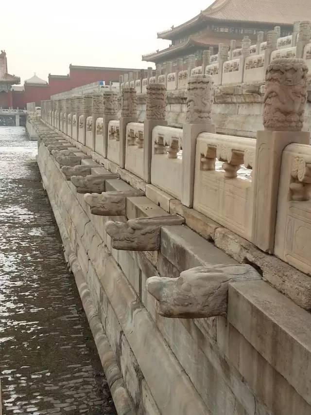 暴雨天,给你讲讲故宫的排水系统!_4