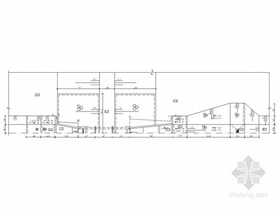 穿堤涵闸工程施工图(消力池 启闭机房)