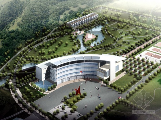 某海洋局北京教育培训中心规划设计文本