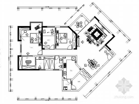 [珠海]精品现代风格三居室装修设计图(含实景)