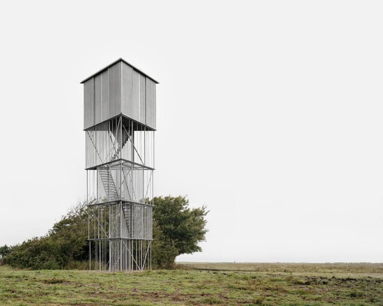 丹麦鸟类保护区的和谐装置
