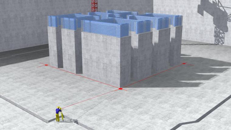 环球金融中心项目施工总承包工程超高层测量放线施工方案