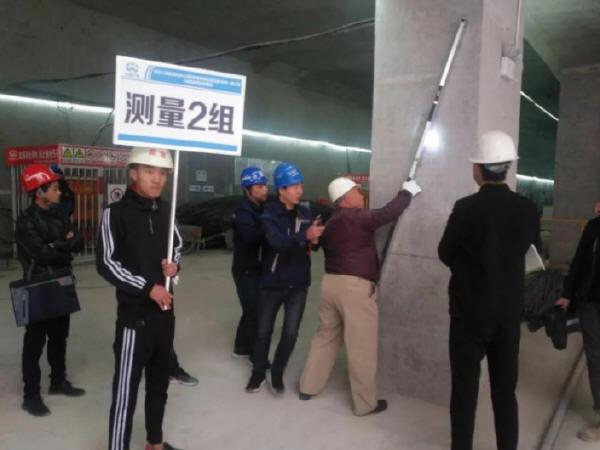 呼市地铁1号线将军衙署站顺利通过主体结构工程验收