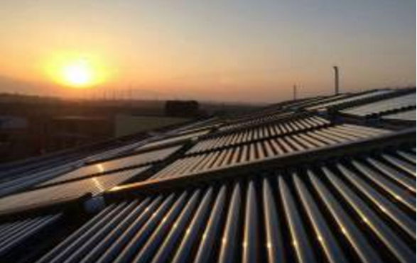 太阳能+空气能采暖工程综合示范项目
