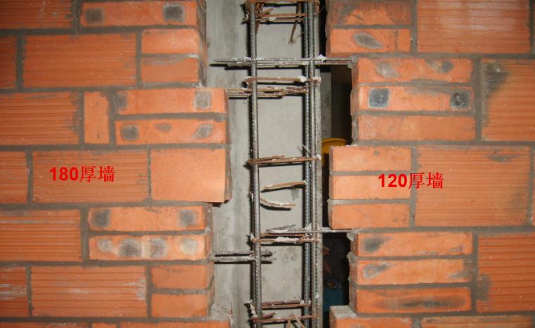 砌体分项工程工序及工艺流程
