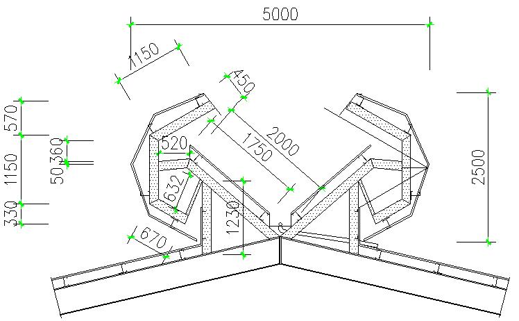 福建细木工板车间单层门式刚架结构施工图_5