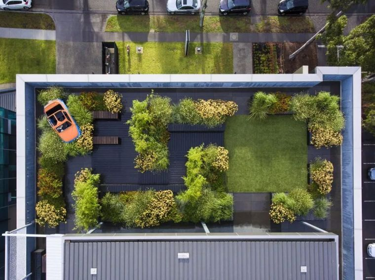 屋顶花园|屋顶花园这么设计才好看