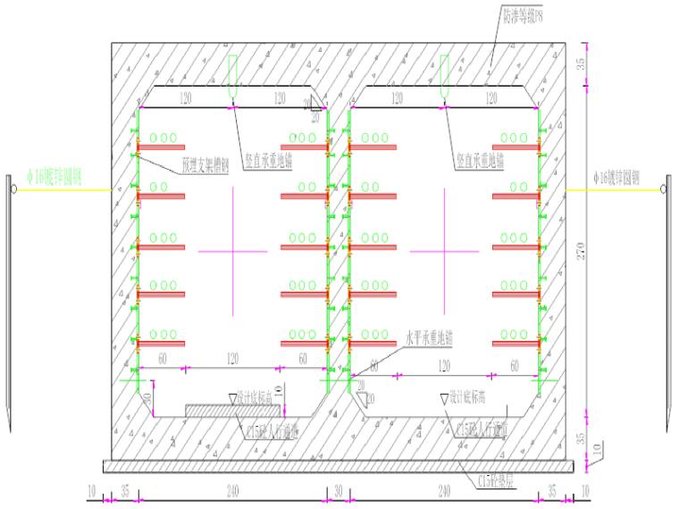 区域路网项目电力隧道施工方案
