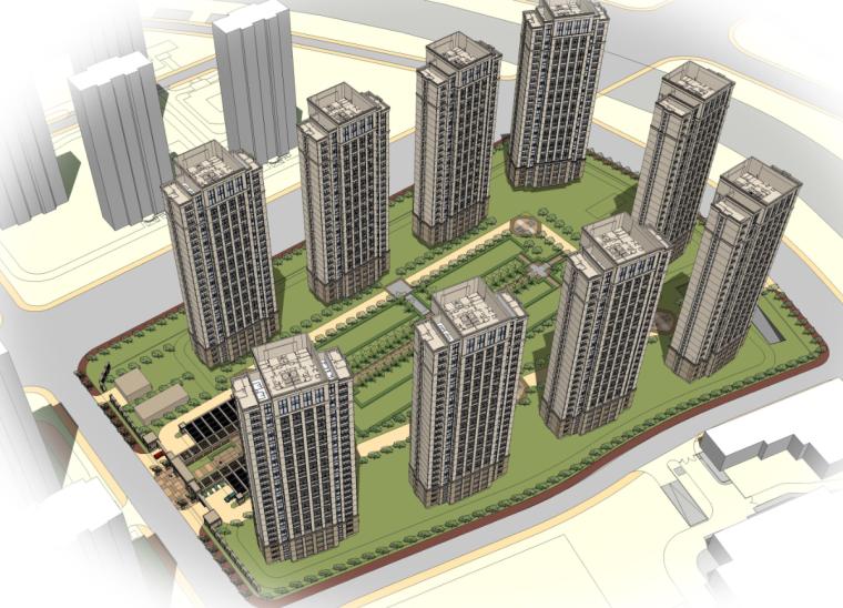 [天津]小伙巷B地块东标段 住宅方案设计(PPT+31页)