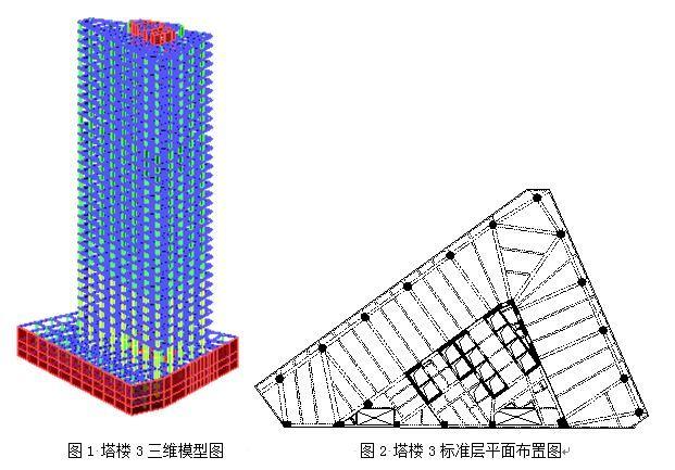高层结构分析方法(一):小震弹性分析工程案例