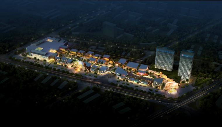 [上海]某知名商业建筑项目方案汇报(知名设计院)_1