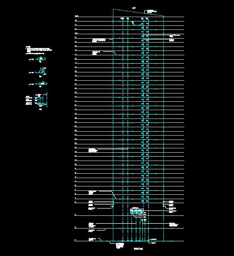 广州600M塔楼全套电气图纸(强弱电给排水)_7