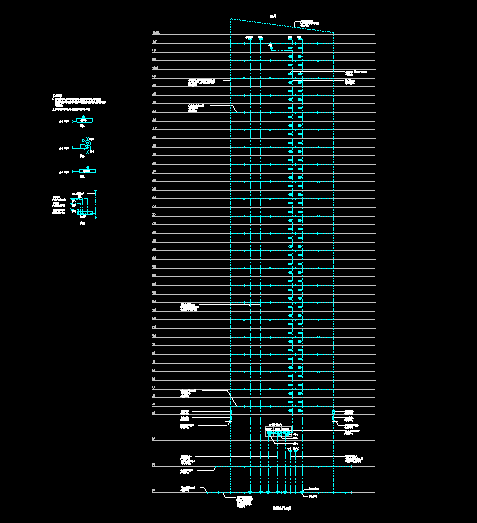 600M塔楼全套图纸(强电弱电给排水)_7
