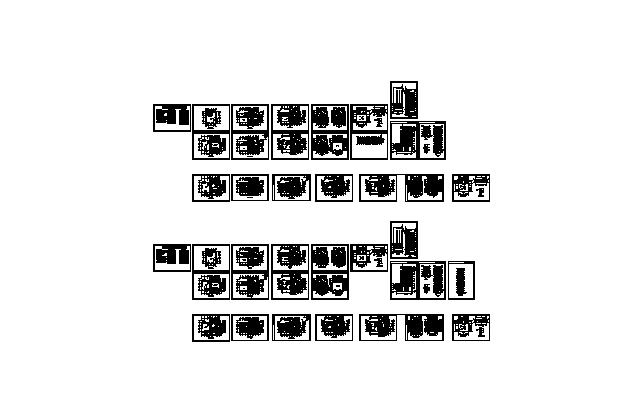 某十二层酒店施工设计CAD(无大样)
