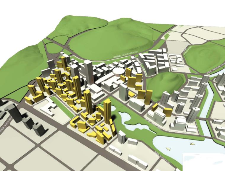 [辽宁]大连软件园河口湾地块城市设计方案文本