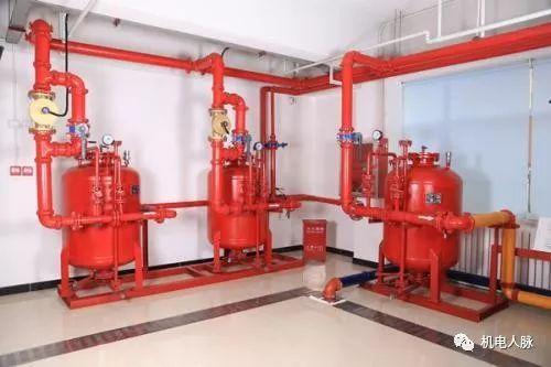 [微分享]泡沫灭火系统、消火栓给水系统、自动喷水灭火系统图纸