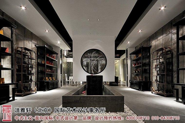 新中式茶楼装修设计,体现沁静优雅的人生乐趣_3