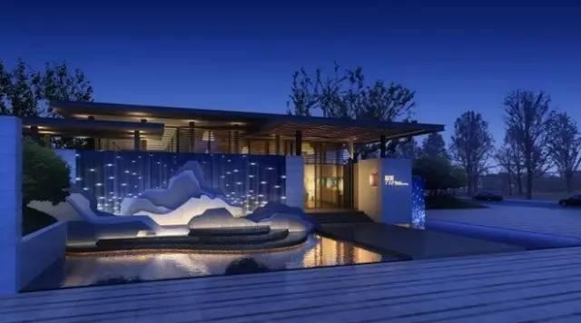 [分享]独特意境--新中式-景观设计-筑龙园林景观