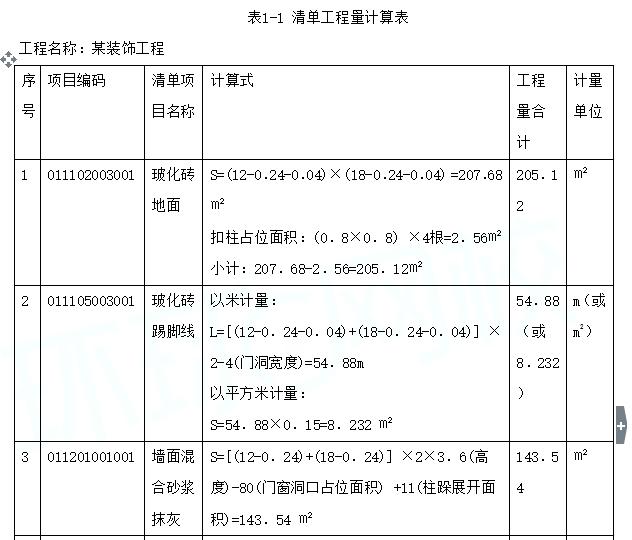 清单看图算量组价(土建)精讲讲义word124页(图文案例)_8