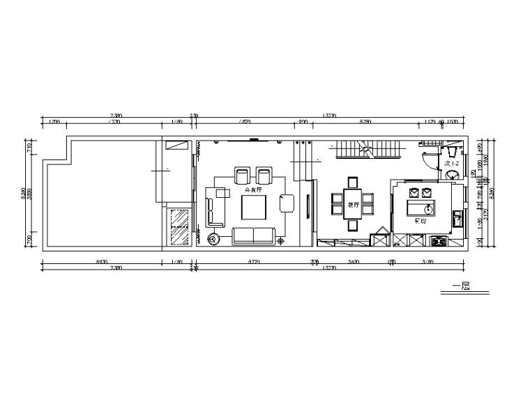 [上海]明中路白马别墅设计施工图(含效果图)