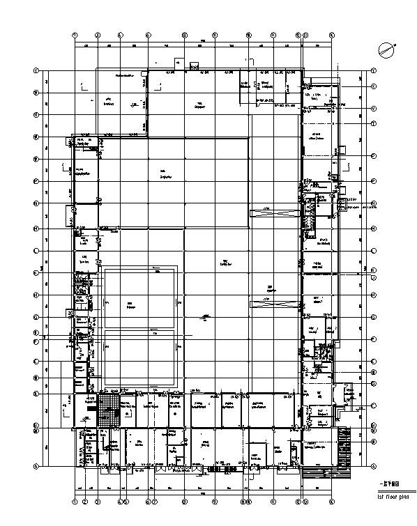 层厂房楼计算施工图(15中标图全图纸专业)-工图纸排水井年审高检查如何建筑图片