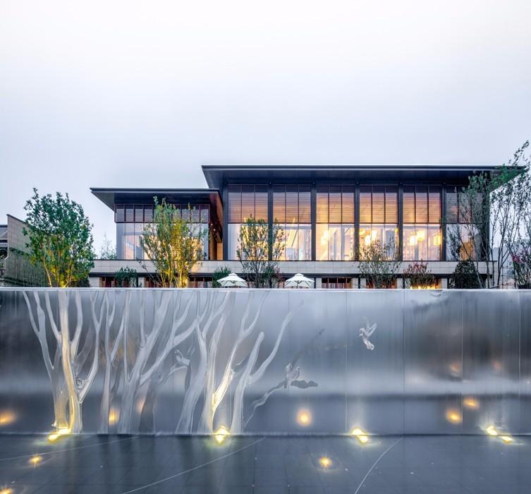 南京新城住宅新中式住宅景观-1
