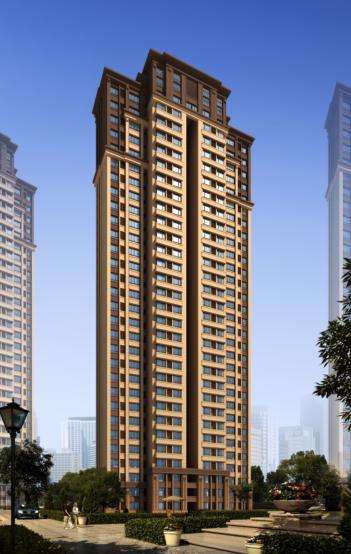 绿地滨河国际D-2D地块建筑设计方案文本_3