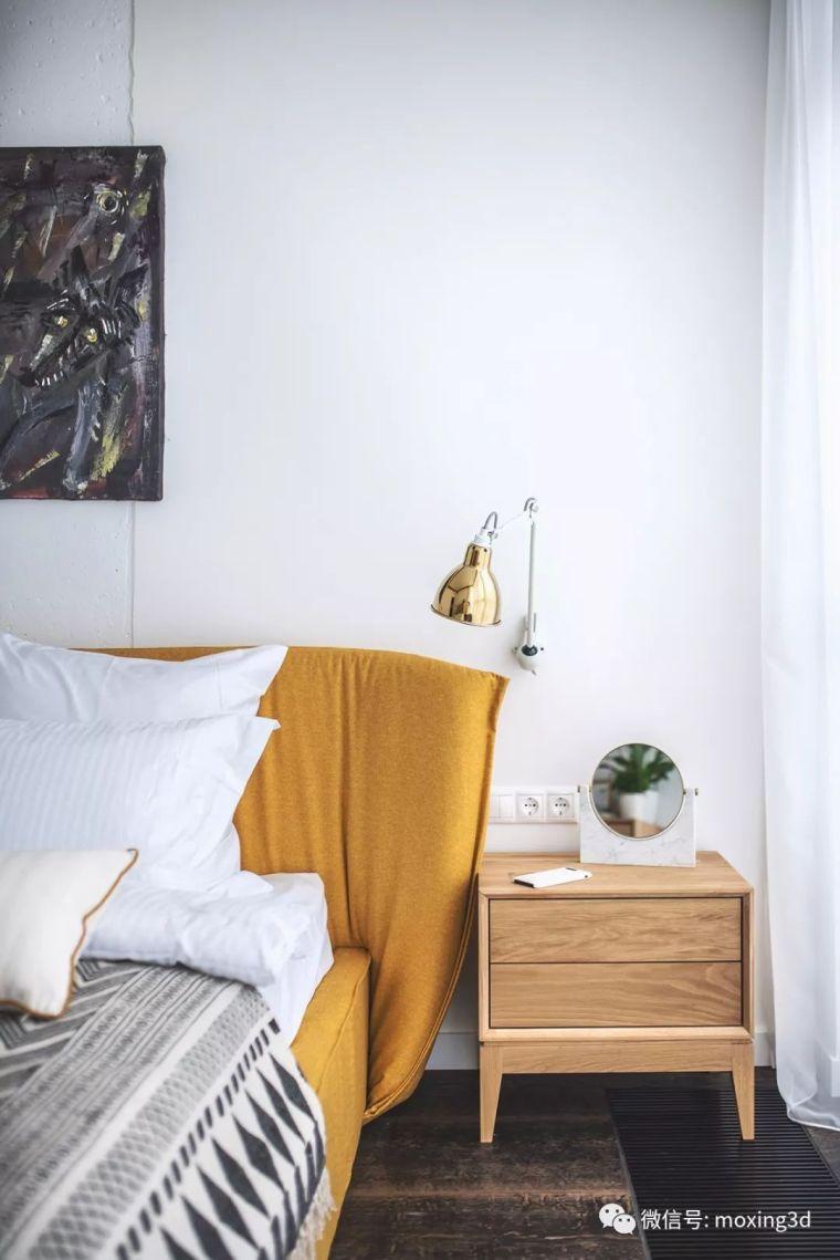 色彩灵动的北欧简约公寓,无可挑剔的美_14