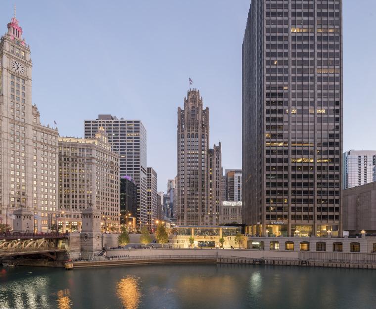 美国芝加哥苹果密歇根大道店