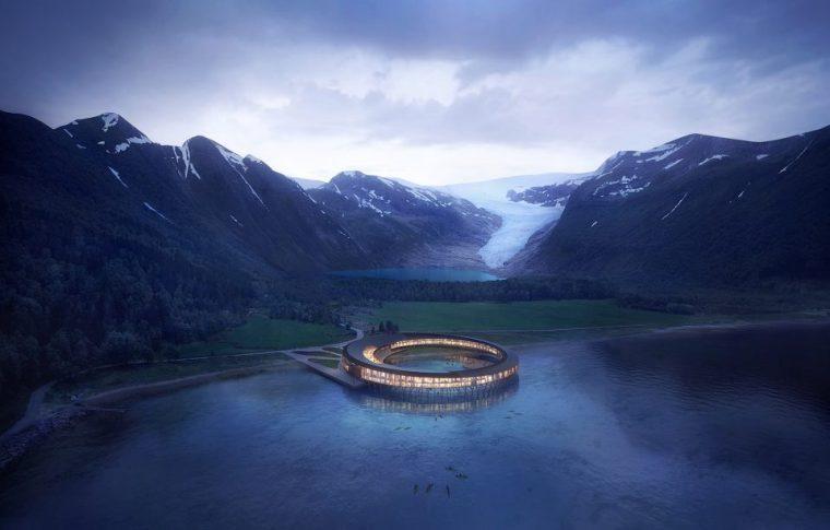 """世界上第一家自发电酒店""""Svart"""""""
