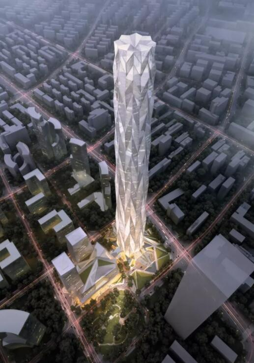 中国第一高楼有望建在成都来看成都高楼百年进化史