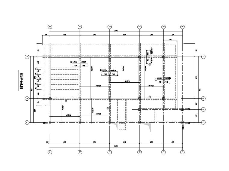 [贵州]2层框架结构食堂结构施工图(人工挖孔桩)