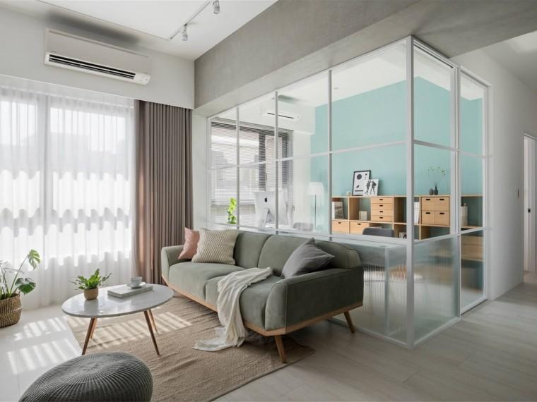 台式风格的居住空间
